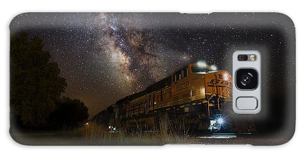 Cosmic Railroad Galaxy Case by Aaron J Groen