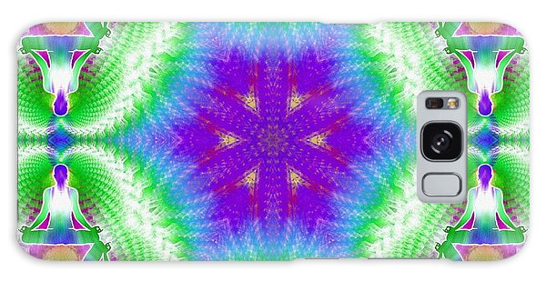 Cosmic Spiral Kaleidoscope 10 Galaxy Case
