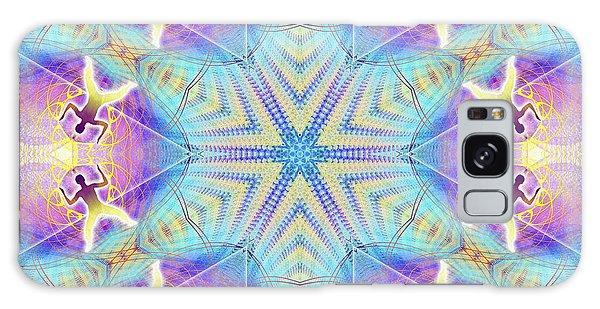 Cosmic Spiral Kaleidoscope 17 Galaxy Case