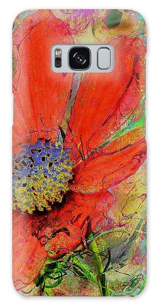 Cosmos Flower No. 1 Galaxy Case