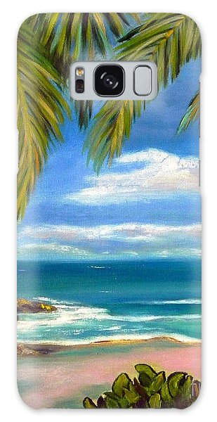 Costa Rica Rocks   Costa Rica Seascape  Galaxy Case