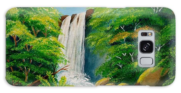 Costa Rica Waterfall Galaxy Case