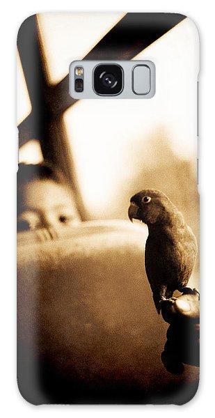 Costa Rican Bird Boy Galaxy Case