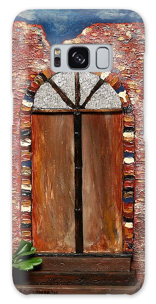 Costa Rican Doorway Galaxy Case
