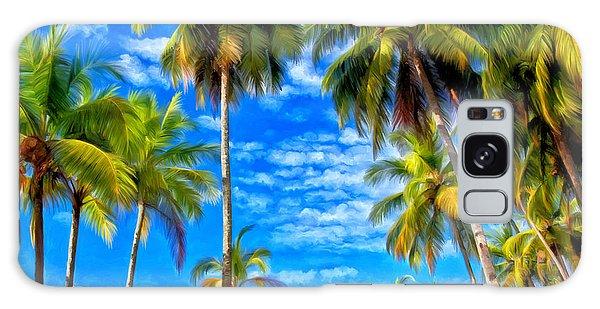 Costa Rican Paradise Galaxy Case by Michael Pickett