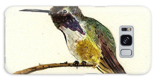 Costa S Hummingbird Galaxy Case by Juan  Bosco