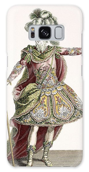 Ostrich Galaxy Case - Costume For Neptune In Several Operas by Jean Baptiste Martin