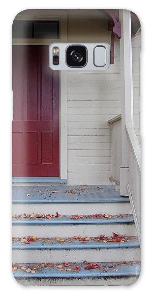 Cozy Cottage Door Galaxy Case