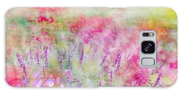 Cottage Garden Impressionism Galaxy Case by Linde Townsend