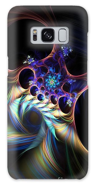 Cotton Candy 2 Galaxy Case by Arlene Sundby