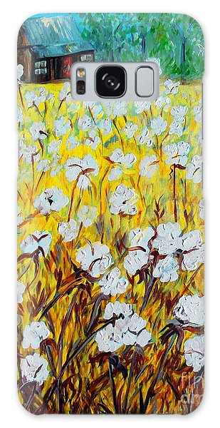 Cotton Fields Back Home Galaxy Case
