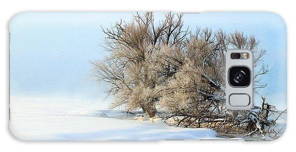 Cottonwoods On Spring Creek Galaxy Case