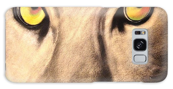 Cougar Eyes Galaxy Case