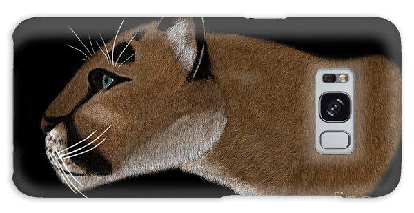 Cougar Portrait Galaxy Case