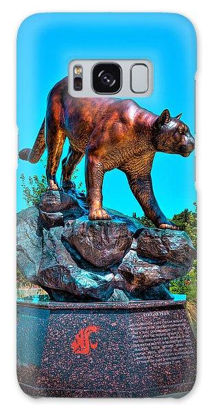Cougar Pride Sculpture - Washington State University Galaxy Case