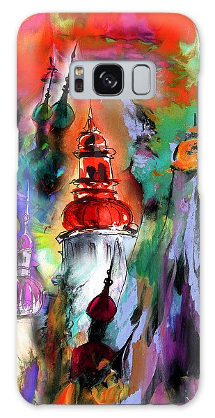 Russian Impressionism Galaxy Case - Could Be Saint Petersburg by Miki De Goodaboom