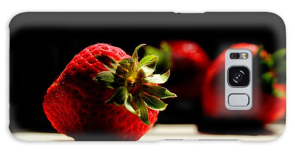 Countertop Strawberries Galaxy Case