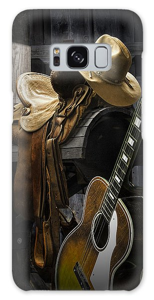 Country And Western Music Galaxy Case