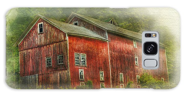 Country Barn Galaxy Case by Kathleen Holley
