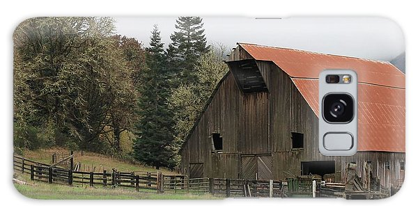 Country Barn Galaxy Case by Katie Wing Vigil