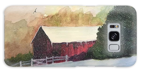 Country Barn Galaxy Case by Lucia Grilletto