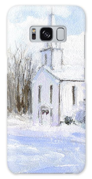 Country Church Galaxy Case