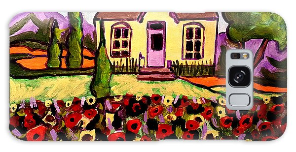 Country Cottage 2 Galaxy Case