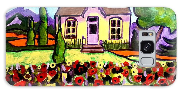Country Cottage 3 Galaxy Case
