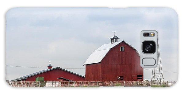 Country Farm Portrait Galaxy Case