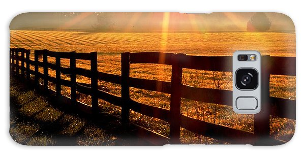 Country Fence Galaxy Case