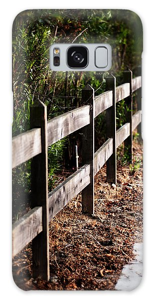 Country Fence Color Galaxy Case