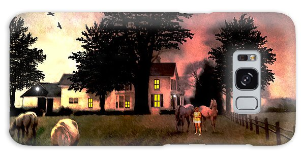 Country Home Galaxy Case by Michael Rucker