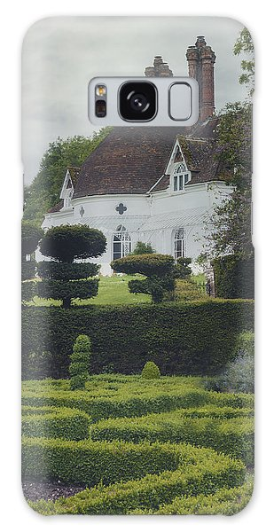 English Countryside Galaxy Case - Country House by Joana Kruse