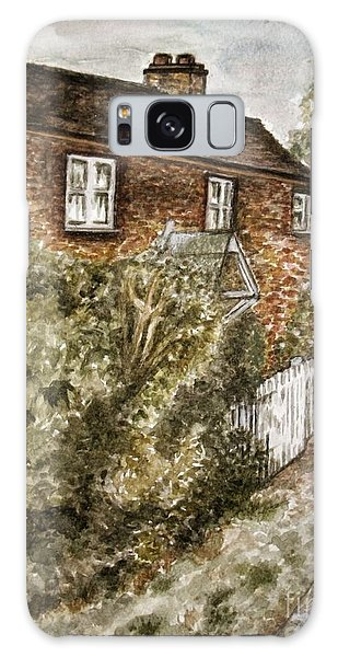 Old English Cottage Galaxy Case