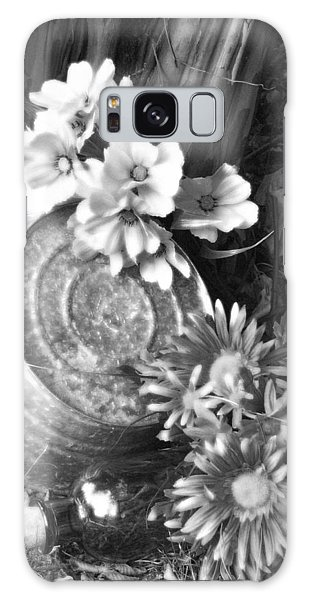 Country Summer - Bw 03 Galaxy Case