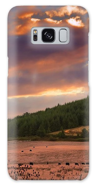 Country Sunlight Galaxy Case