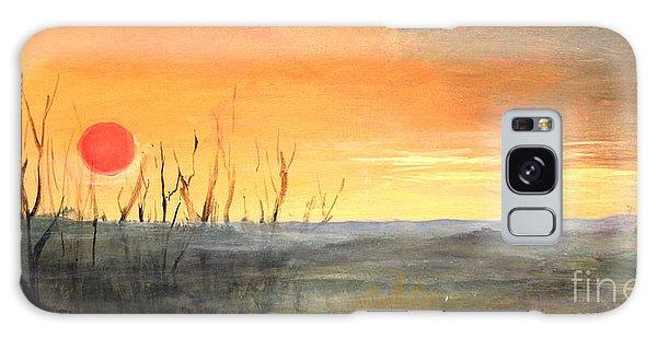 Country Sunset Jo Daviess Galaxy Case