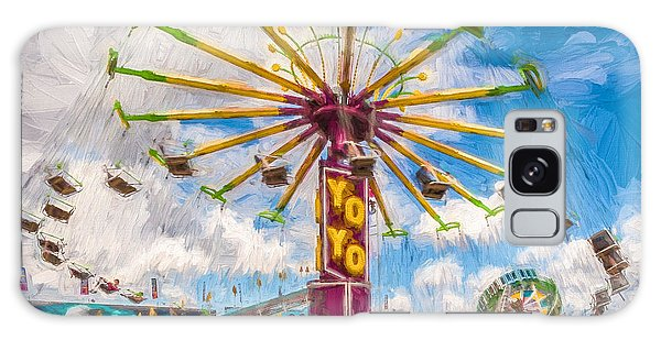 County Fair Galaxy Case by Beverly Parks