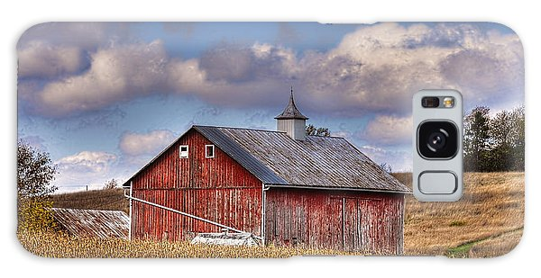 County G Barn In Autumn Galaxy Case by Trey Foerster