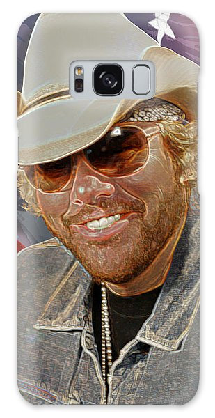 Courtesy Of The Red White And Blue  Toby Keith Galaxy Case