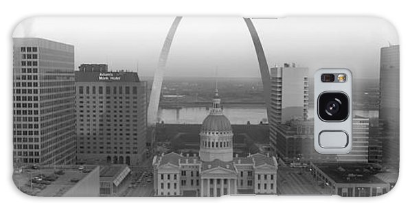 St Louis Mo Galaxy Case - Courthouse & Memorial Arch, St. Louis by Panoramic Images