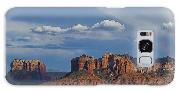 Courthouse And Cathedral Rocks Galaxy Case