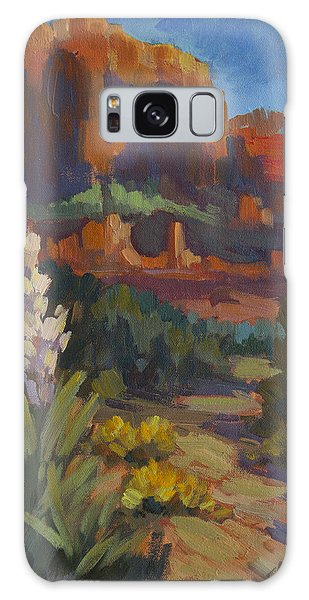 Courthouse Rock Sedona Galaxy Case