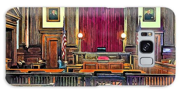 Courtroom Galaxy Case by Susan Savad