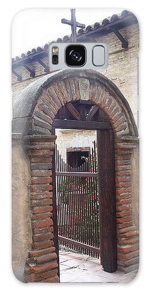 Courtyard Gateway Galaxy Case