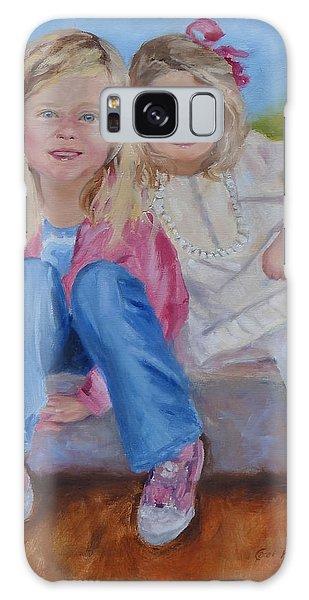 Cousins Galaxy Case by Carol Berning