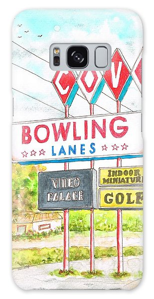 Cove Bowling Lanes In Bamington - Massachusetts Galaxy Case
