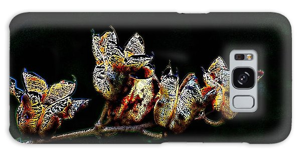 Cove Weeds Galaxy Case by Kathleen Stephens