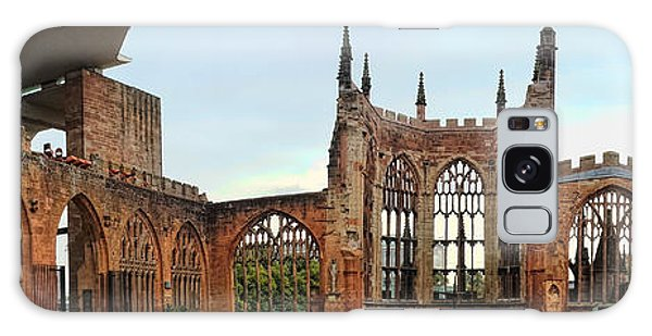Coventry Cathedral Ruins Panorama Galaxy Case