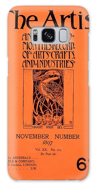 Magazine Cover Galaxy Case - Cover For The Artist Magazine, November 1897 by English School